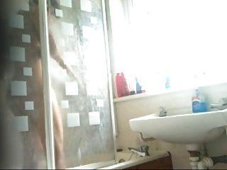 الذكية الهندي فتاة في سن المراهقة حمام كليب القبض عليهم من قبل كاميرا خفية