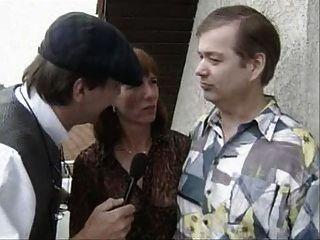 زوجين الألمانية القديم الحصول على مقابلات وثم اللعنة