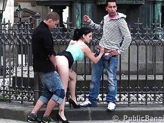 مجموعة الجنس الجماعي في منتصف الجزء المدينة 2