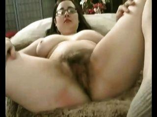 فرنك غيني السمين الدهون مع كبير الثدي استمناء بوسها شعر