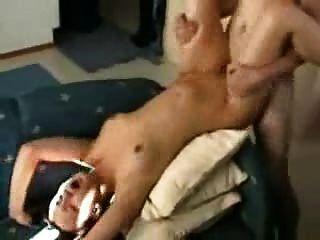 وجه كبير الحمار الكبير مارس الجنس وcummed على