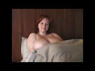 BBW أحمر الشعر جبهة مورو مع ضخمة الثدي # 2