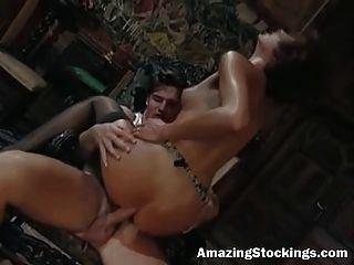 جوارب خمر والأربطة الجبهة مارس الجنس