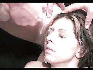bukkake فتاة مع الثدي وهمية 2