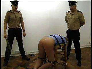 birching السجن