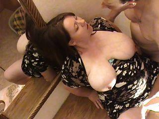 الألمانية BBW مارس الجنس حاملا على صدره