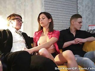 مارس الجنس لها رخيصة فرنك بلجيكي الحمار