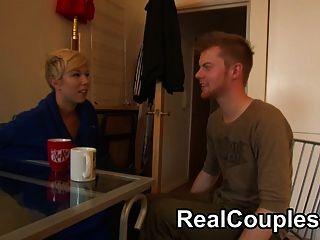 مشاهدة الزوجين حقيقي على الدردشة الكاميرا وسخيف