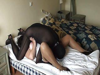 ممارسة الجنس مع بلدي فرنك غيني جوارب طويلة الجزء 2 من 3