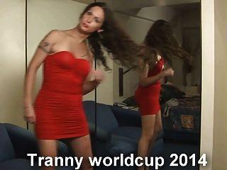 كأس العالم ترانزيستور 2014 مع Ladyboys نيكي - Xalabahia.com