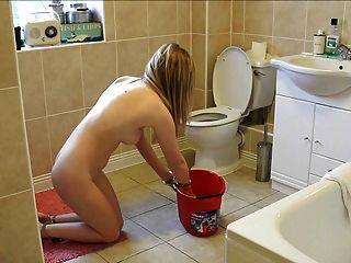 الحمام تنظيف