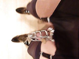 النايلون حزام الرباط المشي مع قفص والكرة نقالة