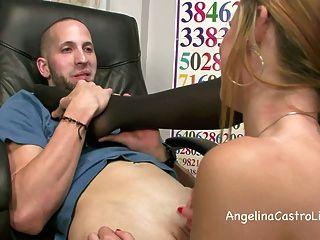 footjob الرطب وقذرة وBJ في الصف مع أنجلينا كاسترو !؟