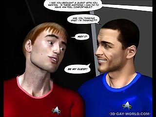 أول اتصال الشرج 3D مثلي الجنس الكرتون كوميدي قصة انمي