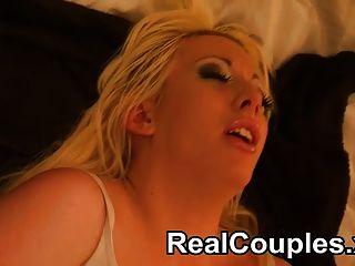 فاليري زوجين الحقيقي وكاي لعب على السرير