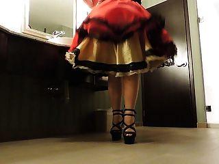 راي سيسي في الحمام العام
