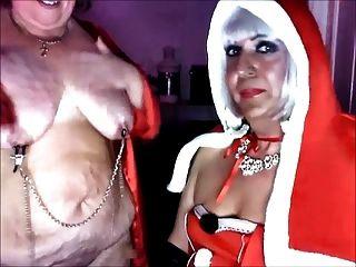 عشيقة عيد الميلاد ولها من الباطن وقحة كاترينا حزب العمال 3