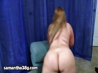 ملكة bbws سامانثا 38g ويذهب منفردا