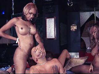 3 آلهة سوداء تحول جنسى واحد رجل محظوظ
