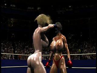 fpz3d الصورة مقابل ز 3D عراك بالأيدي تون كاتفيغت كبير الثدي من جانب واحد