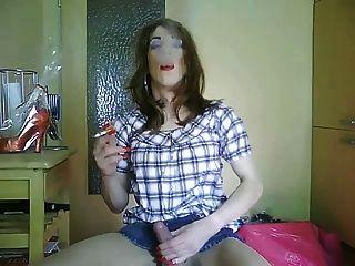 خنثى tvsonja التدخين صنم 2