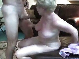ناضجة زوجة مقلاع يحب حقا الجنس