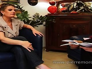 محظوظ الرجل الفرنسية ممارسة الجنس مع مومس طالب وجبهة مورو