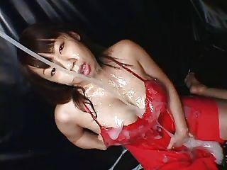 عجيب الآسيوية 43 الثدي لزج