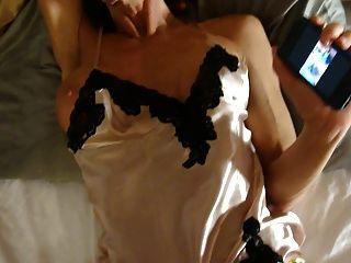 الحرير ثوب النوم الساتان اللباس الداخلي