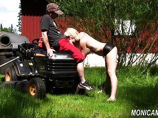 monicamilf هو سخيف الإباحية بستاني نورسك