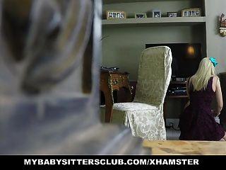 يحصل اشتعلت mybabysittersclub جليسة اللص ومارس الجنس