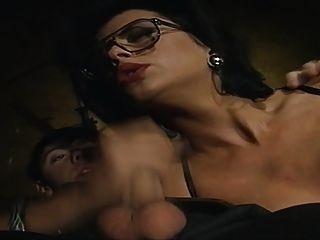 جبهة مورو في النظارات الأصغر الإغواء رجل