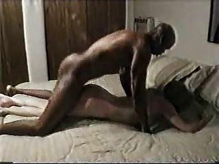 زوج مثل يراقب زوجته يمارس الجنس مع الثور الأسود