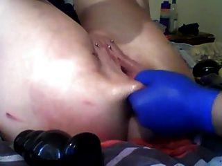 sexysasha قبضة اللعب كس الشرج