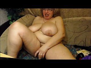 كبير الثدي تنضج على كاميرا ويب