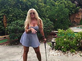 العام الغولف الجنس مصغرة مع حلمة الثدي جبهة مورو كبيرة