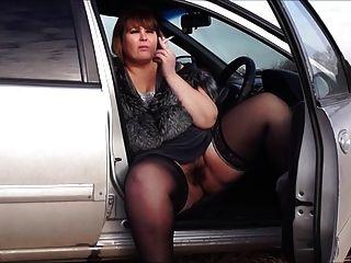 إيروس والموسيقى BBW من قبل كس مشعر، الدخان في السيارة