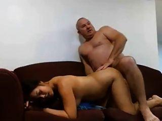 رجل ناضج الملاعين امرأة له