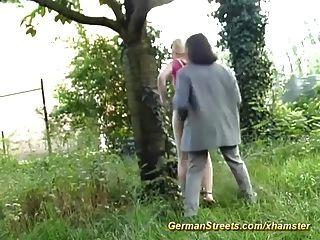 حقيقية الشوارع الجنس الألمانية