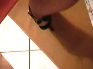 أسود أحذية عالية الكعب