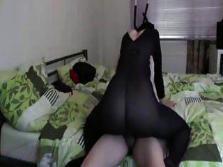 فتاة مارس الجنس في مبهمة بوديستوكينغ