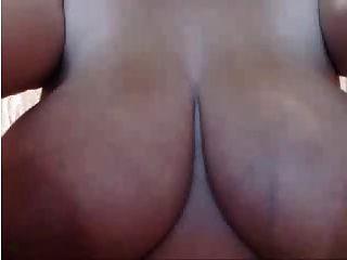 كاميرات الويب 2014 كبير المرضعات كولومبيان الثدي جزء 1