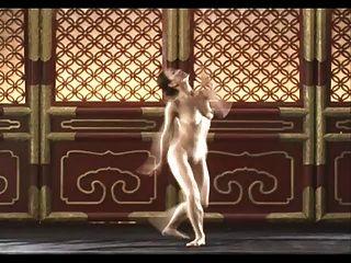 تانغ جيا لي عارية الرقص