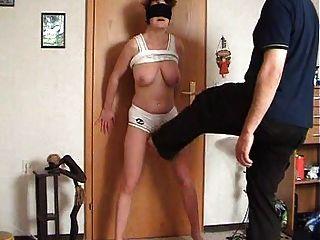 امرأة يحصل لها كونتبوستيد بواسطة وف