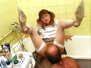زوج اللعنة مهبل ليس له ستيبدوتر! الهواة!