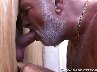 السمين بابا تمتص خارج حمولة
