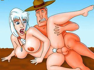 الكرتون الشهير الأبطال الخارقين محاكاة ساخرة الجنسية - Xalabahia.com
