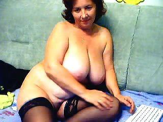 لطيف جدة مع كبير الثدي