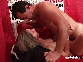 الهواة الفرنسية زوجين ممارسة الجنس أمام الكاميرا لدينا