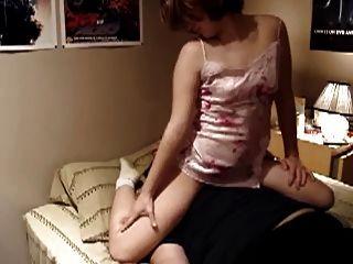 غنيمة فتاة وجه الجلوس و فارتينغ صنم